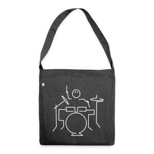 Drummer - Shoulder Bag made from recycled material