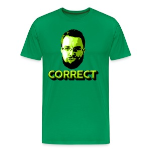 Correct - Michael - Men's Premium T-Shirt