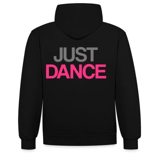 Dj Paxin JUST DANCE. - Kontrast-hættetrøje