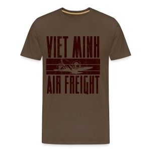 Viet Minh Air Freight - Miesten premium t-paita