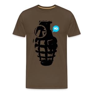 YO - Miesten premium t-paita