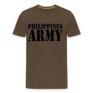 Philippines Army - Miesten premium t-paita