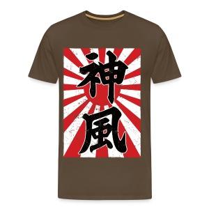 Kamikaze - Miesten premium t-paita