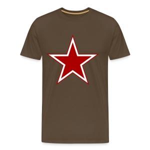 Russian Star - Miesten premium t-paita