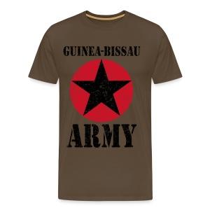 Guinea-Bissau Army - Miesten premium t-paita