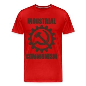 Industrial Communism - Miesten premium t-paita