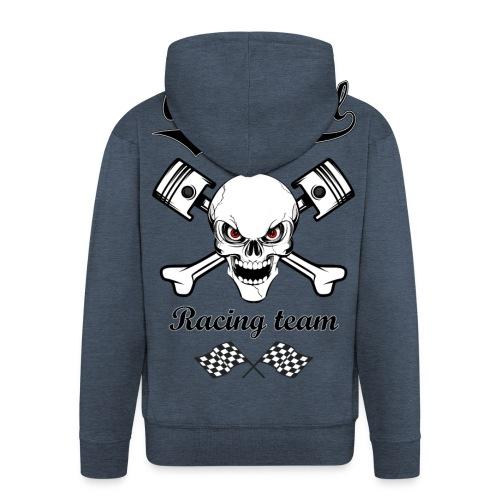 Old School Racing Team - Men's Premium Hooded Jacket