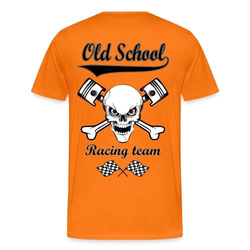 Old School Racing Team - Men's Premium T-Shirt