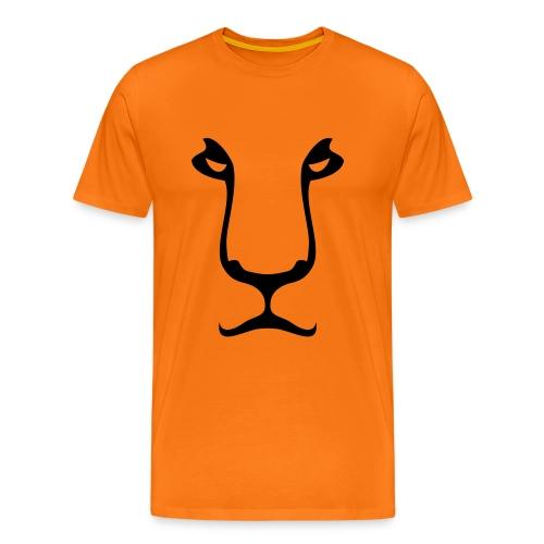 Oranje T-shirt Oranje leeuw - Mannen Premium T-shirt