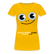 T-Shirts ~ Women's Premium T-Shirt ~ Pocket Money Loans Women's T-Shirt