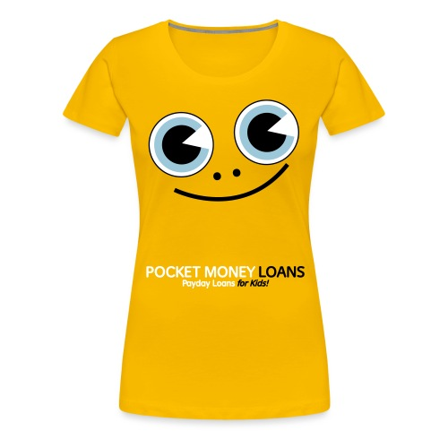 Pocket Money Loans Women's T-Shirt - Women's Premium T-Shirt