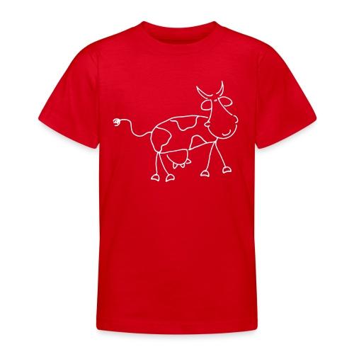 Kuh T-Shirt comix-kids! - Teenager T-Shirt