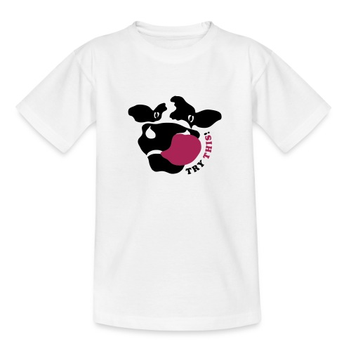 Kuh T-Shirt crazycow-kids! - Teenager T-Shirt
