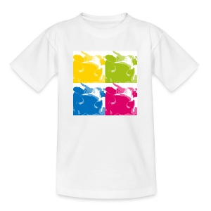 Kuh T-Shirt 4-cows! - Teenager T-Shirt