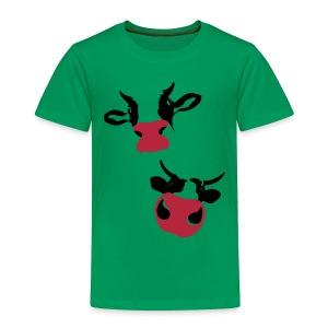 Kuh T-Shirt cow-kids! - Kinder Premium T-Shirt