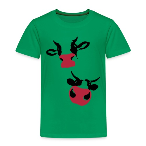Kuh T-Shirt cow-kids! - Kinder Premium T-Shirt