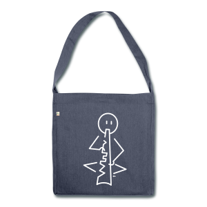 Didgeridoo - Shoulder Bag made from recycled material