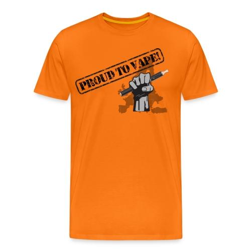 Proud to Vape T-Shirt - Männer Premium T-Shirt