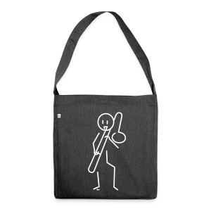 Trombonist - Shoulder Bag made from recycled material