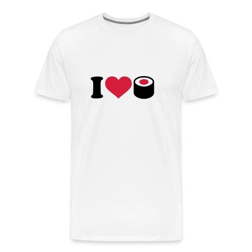 I Love Sushi - Männer Premium T-Shirt