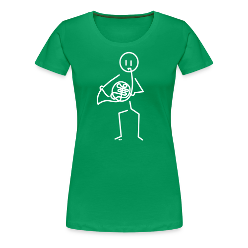 Hornist - Women's Premium T-Shirt