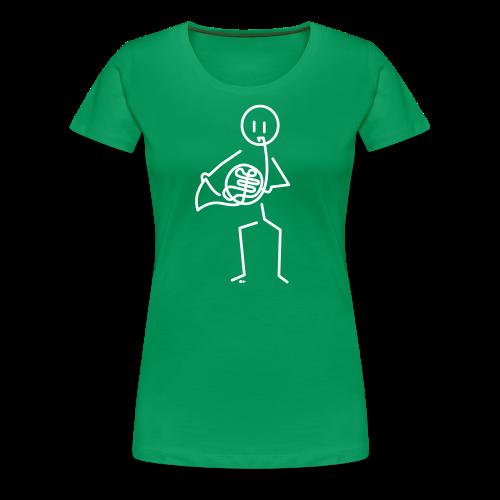 Hornist - Women's Premium T-Shirt