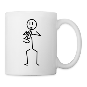 Trumpeter [single-sided] - Mug