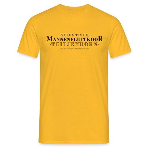 Mannenfluitkoor mannen t-shirt - Mannen T-shirt