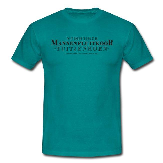 Mannenfluitkoor mannen t-shirt