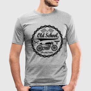 Old School Racing Team - Tee shirt près du corps Homme