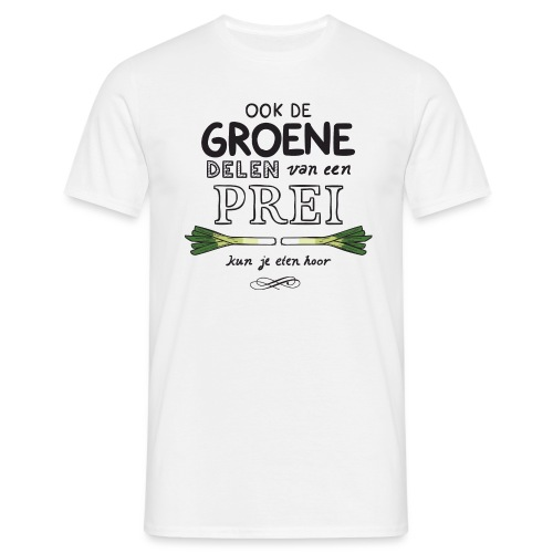 Prei mannen t-shirt - Mannen T-shirt