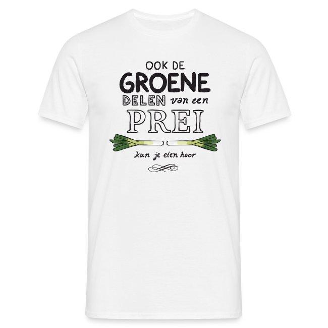 Prei mannen t-shirt