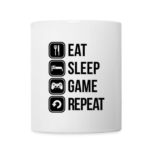 Kop Med Tryk - eat sleep... - Kop/krus