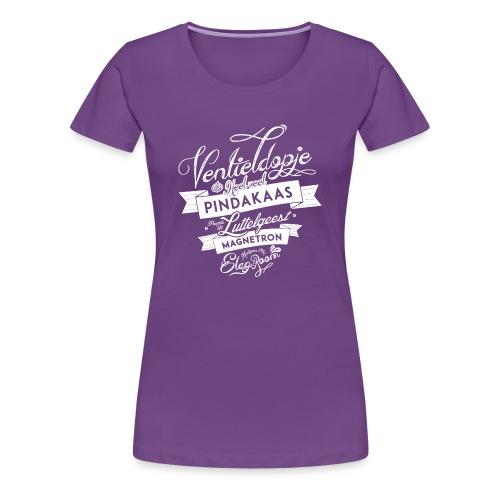 Ventieldopje vrouwen premium - Vrouwen Premium T-shirt