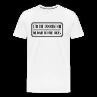 Tee shirts ~ T-shirt Premium Homme ~ Prohibition