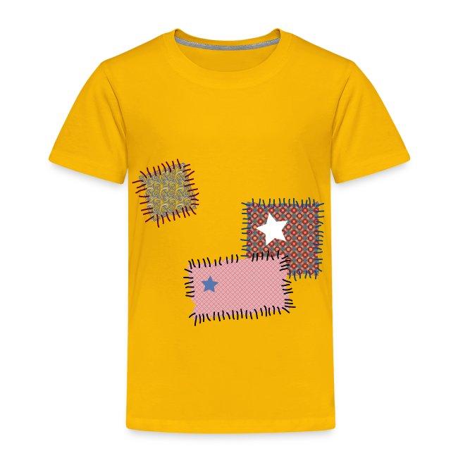 Linie Eins Kids by Helen Storm | Kinder T-Shirt Stoff Flicken nähen ...