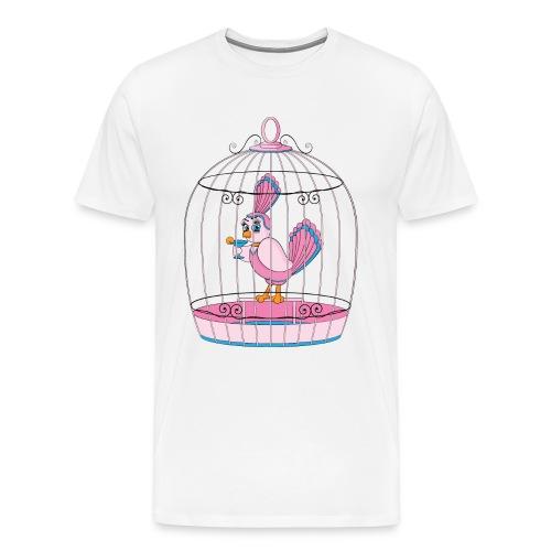 Birdcage Cocktail - Men's Premium T-Shirt