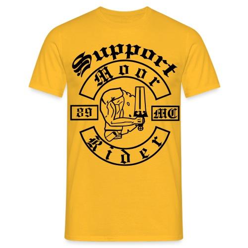 SupportShirt Yellow Line - Männer T-Shirt