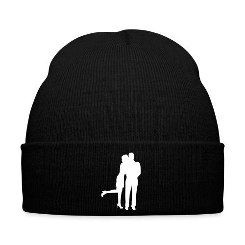 bonnet noir personnalisé  - Bonnet d'hiver