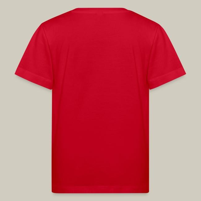 Kinder Bio-T-Shirt mit Glitzer-Logo