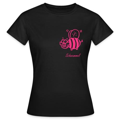 Schwummel Pink  - Frauen T-Shirt