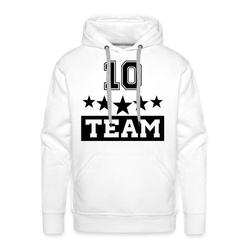 Team10 Hoodie - Sweat-shirt à capuche Premium pour hommes