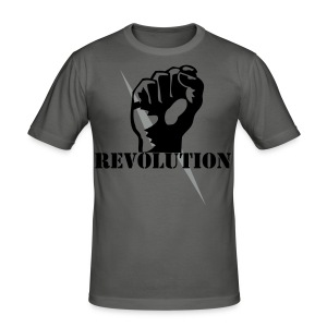 T-Shirt Revolution - Männer Slim Fit T-Shirt