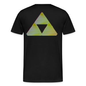 Triforce Shirt - Man - Mannen Premium T-shirt