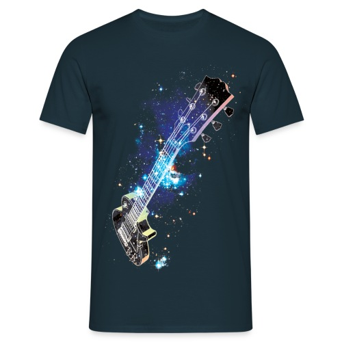 Cosmic Guitar - Men's T-Shirt