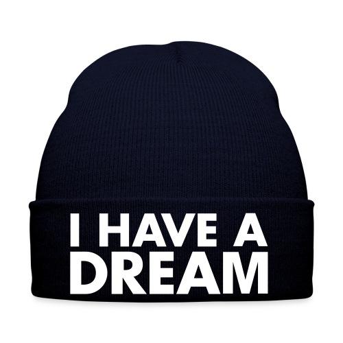 bonnet bleu-marine personnalisé - Bonnet d'hiver