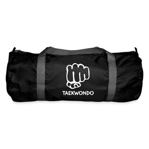 Korykeion bag medium black/grey/white print - Sporttasche
