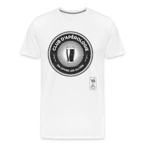 Club Apérologie - T-shirt Premium Homme