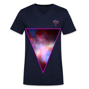 galaxy triangle - Mannen bio T-shirt met V-hals van Stanley & Stella