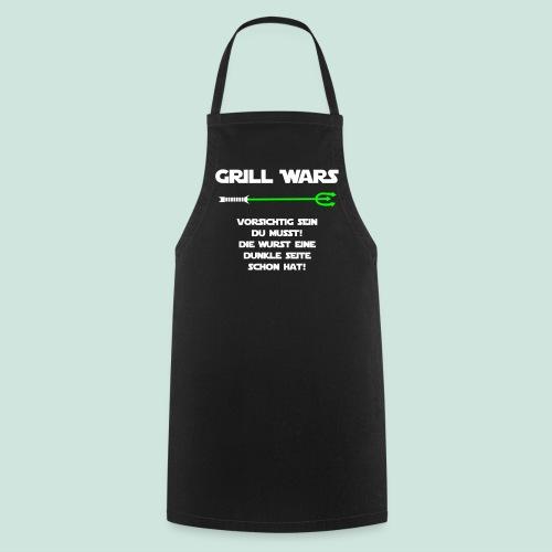Grill Wars dunkle Seite Wurst